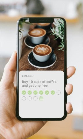 Glue automated loyalty manager for local business